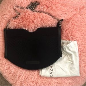 BCBG MaxAzria Shoulder Bag in Black